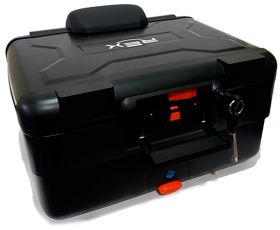E-69X TOP CASE 38 LTS NEGRO