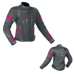 CHAQUETA NF2419 MUJER NEGRA ROSA
