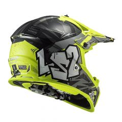 MX437 FAST EVO CRUSHER NEGRO AMARILLO